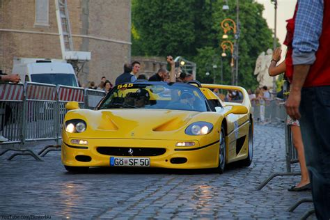 Yellow Ferrari F50 | Just Amazing... YouTube channel with ...