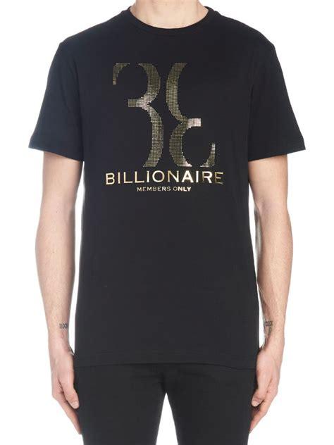 Tshirt Billionare Bdc billionaire t shirt in black modesens