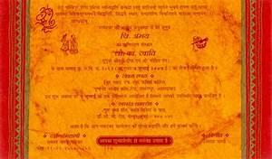 Hindu Wedding Invitation Card Wordings In Hindi Language ...