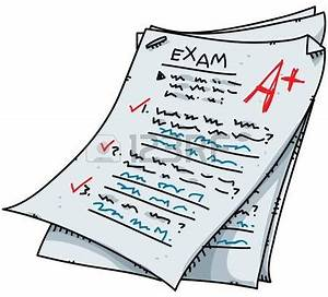 Notebook clipart exam paper - Pencil and in color notebook ...