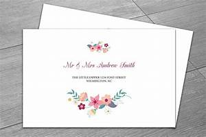 wedding envelope template invitation templates With wedding invitations indesign template free