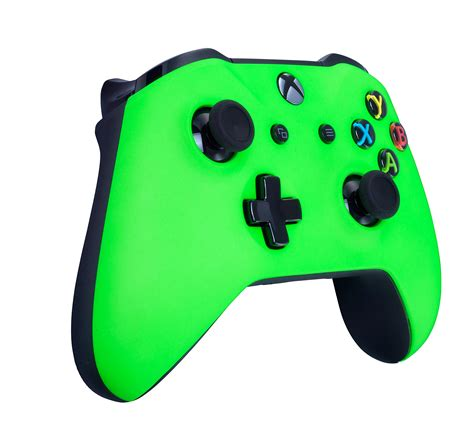 Xbox One S Wireless Controller For Microsoft Xbox One Soft Touch Green X1 Added Grip For