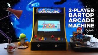 build    player bartop arcade machine