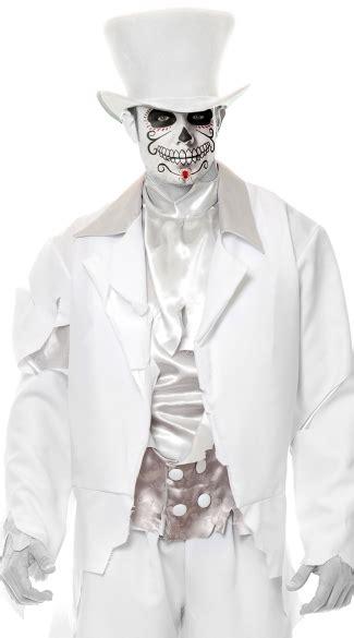ghost groom hat white top hat top hat