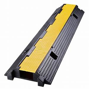Yescomusa  Medium Rubber Cable Cord Protector Ramp