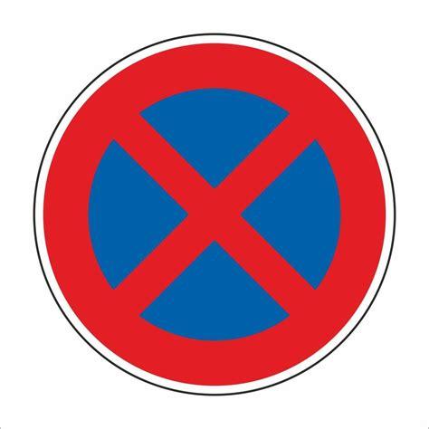 schild parken verboten schild halteverbot halten parken verboten real