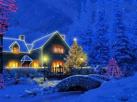 christmas cottage  screensaver   softwares