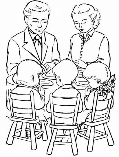 Coloring Dinner Pages Talk