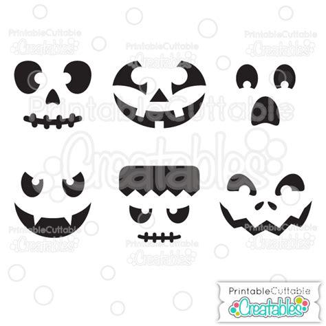 Halloween Faces Pumpkin Carving Stencils Free Svg Files