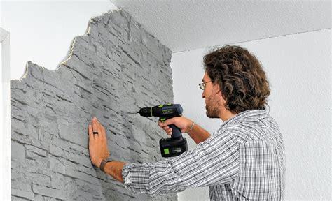 Wandverkleidung Außen Steinoptik by Wand Mit Kunststoff Paneele Wandverkleidung Selbst De