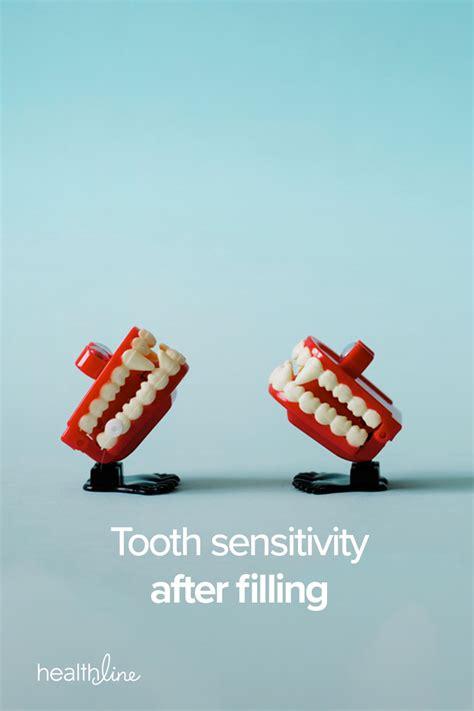 tooth sensitivity  filling symptoms