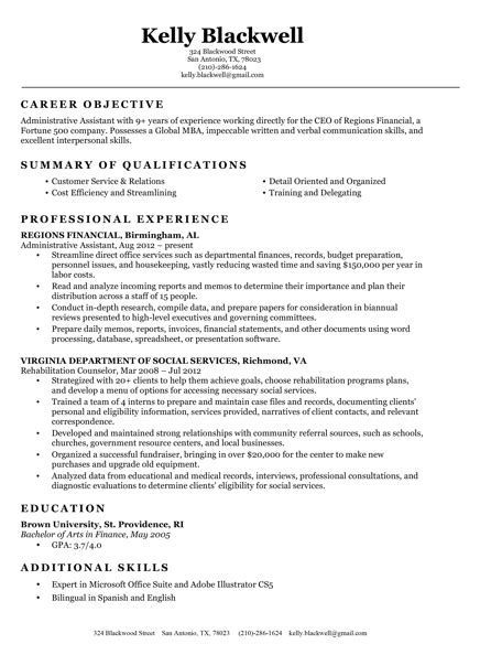 A Resume For Free by Free Resume Builder Resume Builder Resume Genius