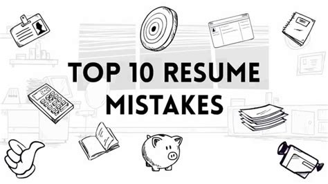 Top 10 Resume Mistakes Linkedin by Top 10 Resume Mistakes