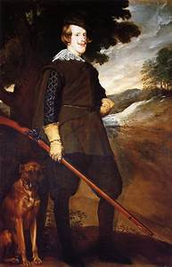 Philip IV King of Spain - Diego Velazquez - WikiArt.org ...