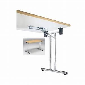 Pied De Table Reglable : manart ferrure complete pour table pliante 710 mm ~ Edinachiropracticcenter.com Idées de Décoration