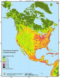 Human Footprint on North America/Turtle Island ...