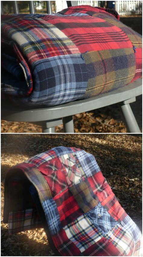 creative ways  reuse  repurpose  flannel shirts