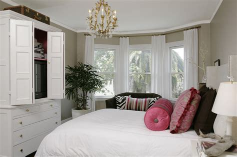 traditional bedroom  agreeable gray interiors  color
