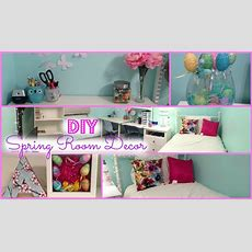 Diy Spring Room Decorations & More!  Youtube