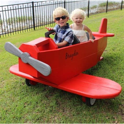 diy  awesome airplane play structure