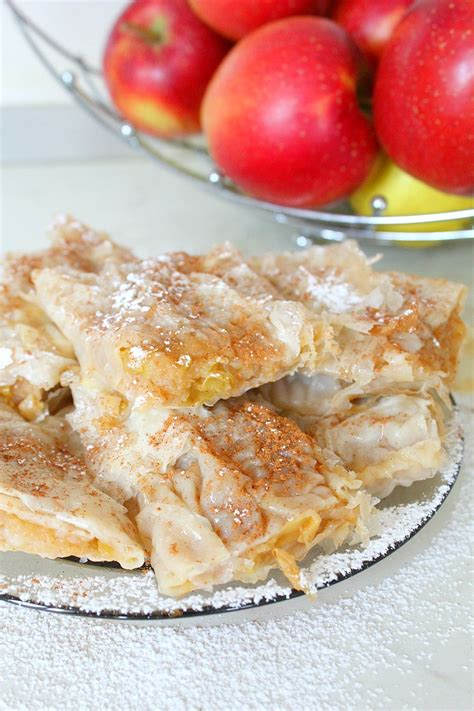 easy apple pie recipe with filo pastry