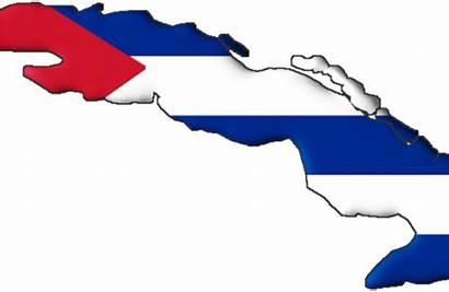 Cuba Bandera Island Clipart Mapa Transparent Map