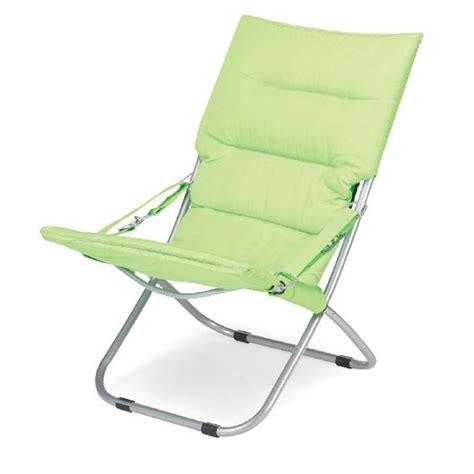 chaise de plage gelert chaise de plage rembourrée newton achat vente
