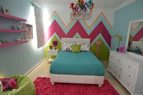 Teen Girls Chevron Bedroom-modern-houston-by Droz Design