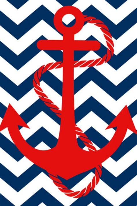 Anchor And Chevron Wallpaper  Manualitats Pinterest