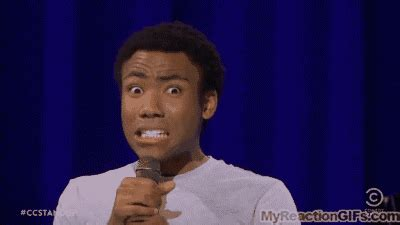 donald glover uh yes gif tugging gifs find share on giphy