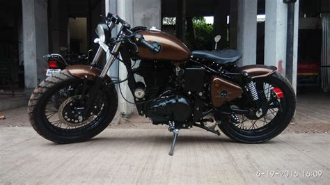 Royal Enfield Classic 500 Modification by Bhavin Royal Enfield Classic 500 By Gabriel Motorcycles