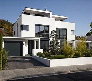 Häuser Im Bauhausstil : aks doppelhaus im bauhausstil architekt in oberursel ~ Watch28wear.com Haus und Dekorationen