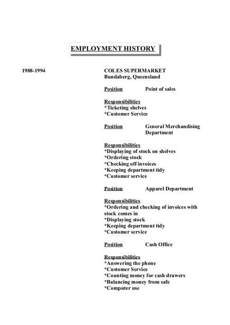 wendy s resume