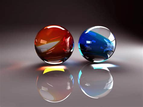 Glass Balls Desktop Backgrounds