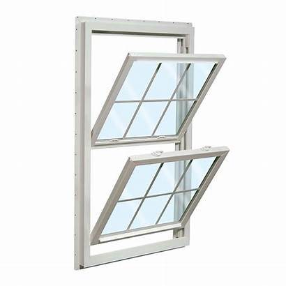 Hung Double Window Pane Reliabilt Opening Lowes