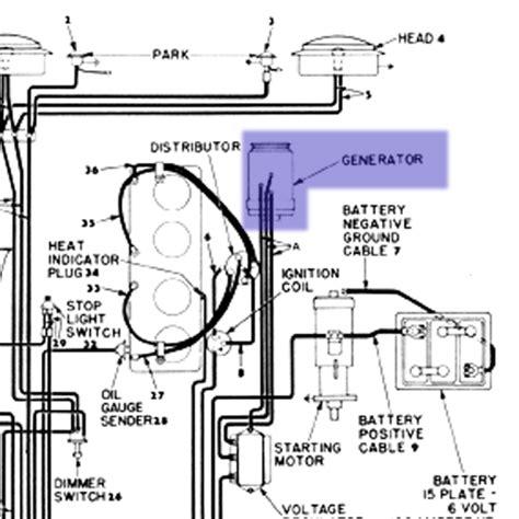 6 Volt Autolite Generator Wiring Diagram by Willys Jeep Parts Q A 6 Volt Generator Kaiser Willys
