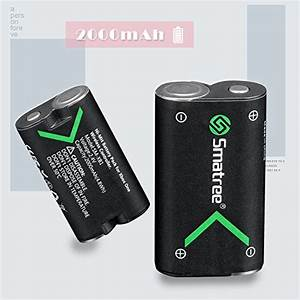 Smatree Xbox One Battery Pack 2 X 2000mAh Rechargeable