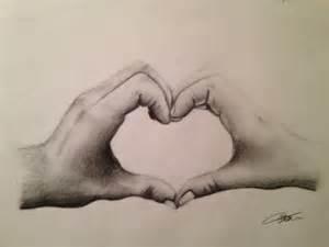 Drawings Of Hands Making A Heart Freesongs4u