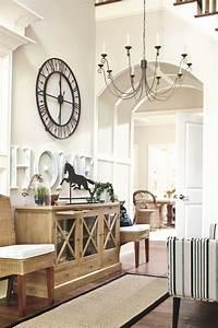 entryway furniture ideas Best 25+ Large clock ideas on Pinterest