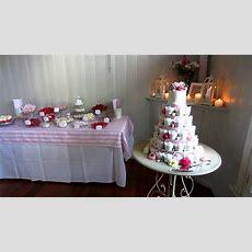 Final Wedding Dessert Table Set Up For Susan & Chris Youtube
