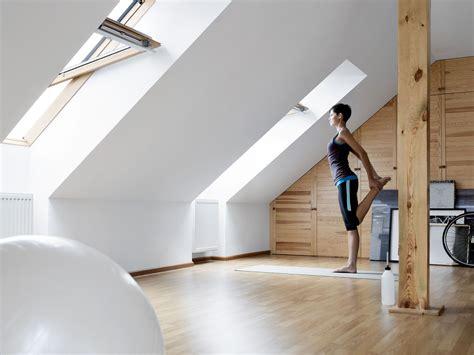 Modernisierung Wohnen Unterm Dach by Mal Etwas Anderes Ein Fitnessraum Unter Dem Dach