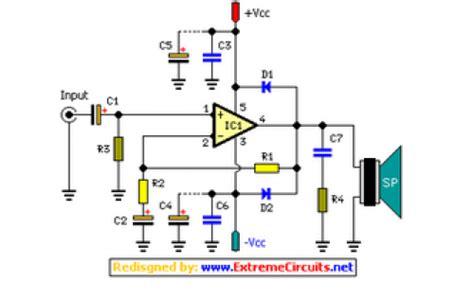 stereo  fi audio amplifier tda eeweb