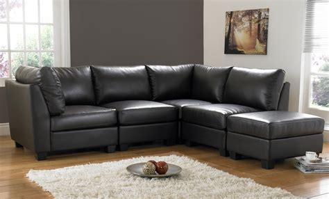 Black Sectional Living Room Ideas by Decorating A Room With Black Leather Sofa Traba Homes