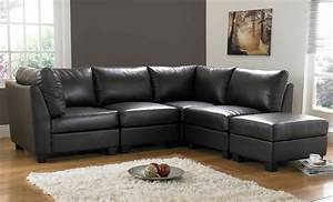 decorating a room with black leather sofa traba homes With black leather sectional sofa decorating