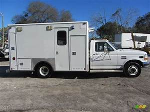 Oxford White 1997 Ford F350 XLT Regular Cab Ambulance ...
