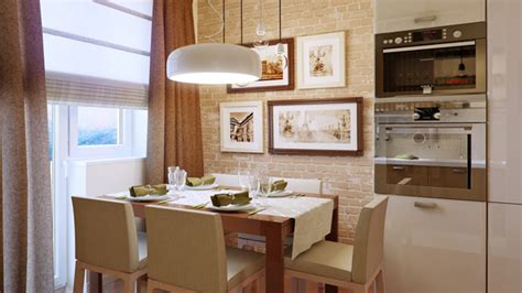 dining rooms  brick walls home design lover