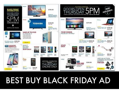 Best Buy Black Friday Ad 2016  Deals, Hours & Ad Scans
