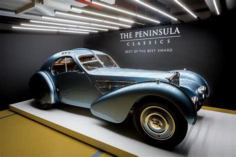 What Type Of Engine Does A Bugatti by 40 Million Bugatti Type 57 Sc Atlantic Wins Peninsula