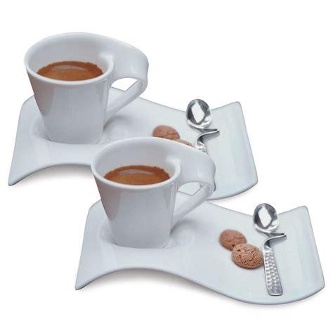 villeroy boch spülbecken villeroy boch new wave caffe white 2 5 oz espresso for 2 6 set 1024847556 the home