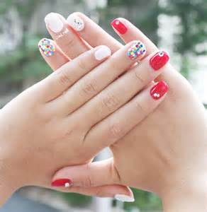 Nail summer gel recommend bling art